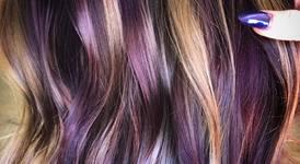 Нова тенденция - шарена коса