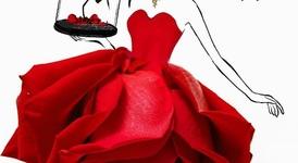 Красиви рокли, създадени от цветя