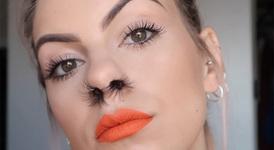 Нова тенденция - екстеншън за носа