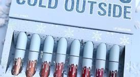 Kylie Kristmas - гримове за Коледа