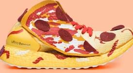 Модерни маратонки - като пица, сирене и с графити