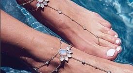 Хит за плажа: Гривни за крака