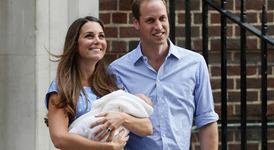 Кейт и Уилям и техният малък наследник